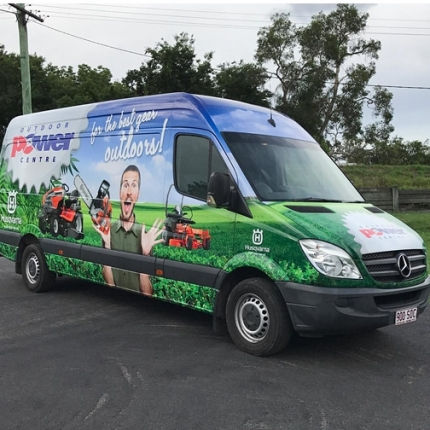Vehicle Wrap Sunshine Coast